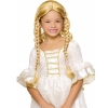 Long Wig W/2 Braids-Blonde
